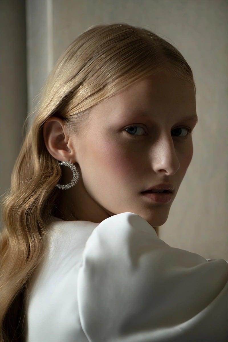 Atelier Swarovski Luna Earrings by Penélope Cruz