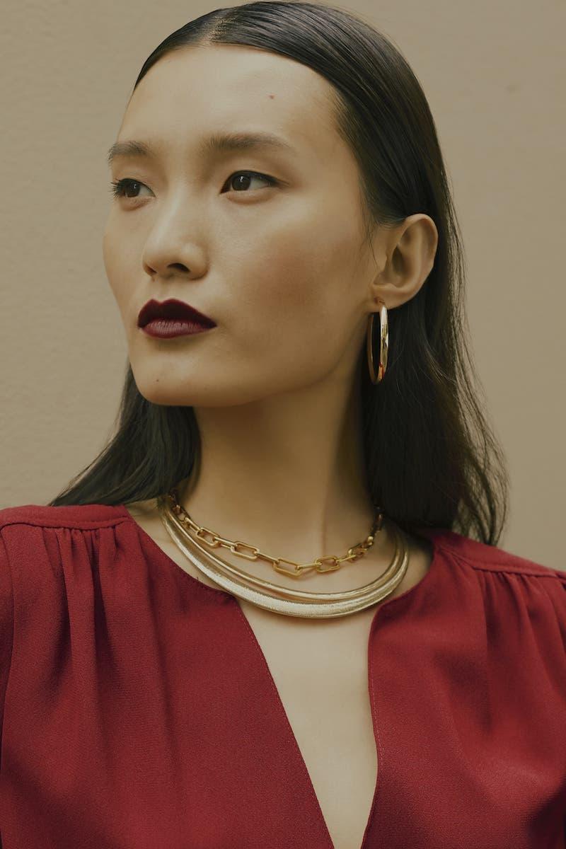 Bony Levy Ofira Thin Omega Necklace