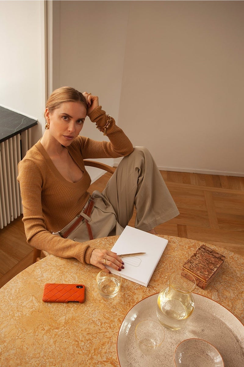 Bottega Veneta Scoop-Neck Wool-Blend Bodysuit