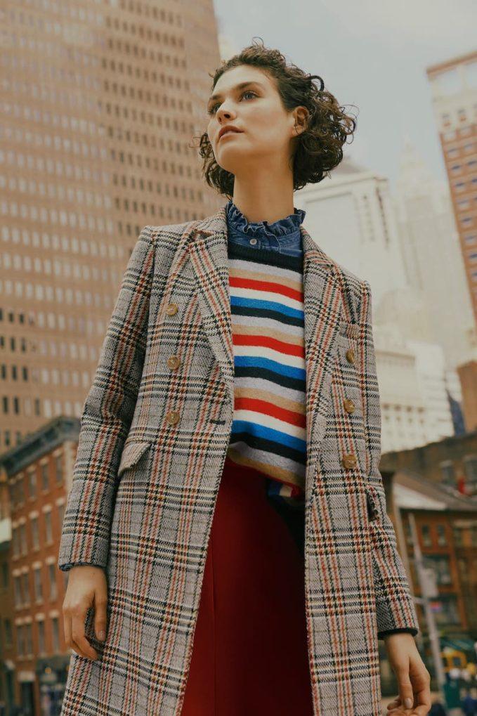 Court & Rowe Stripe Crop Sweater