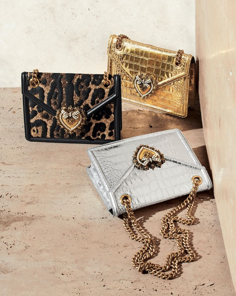 Dolce & Gabbana Devotion Small Crossbody Bag
