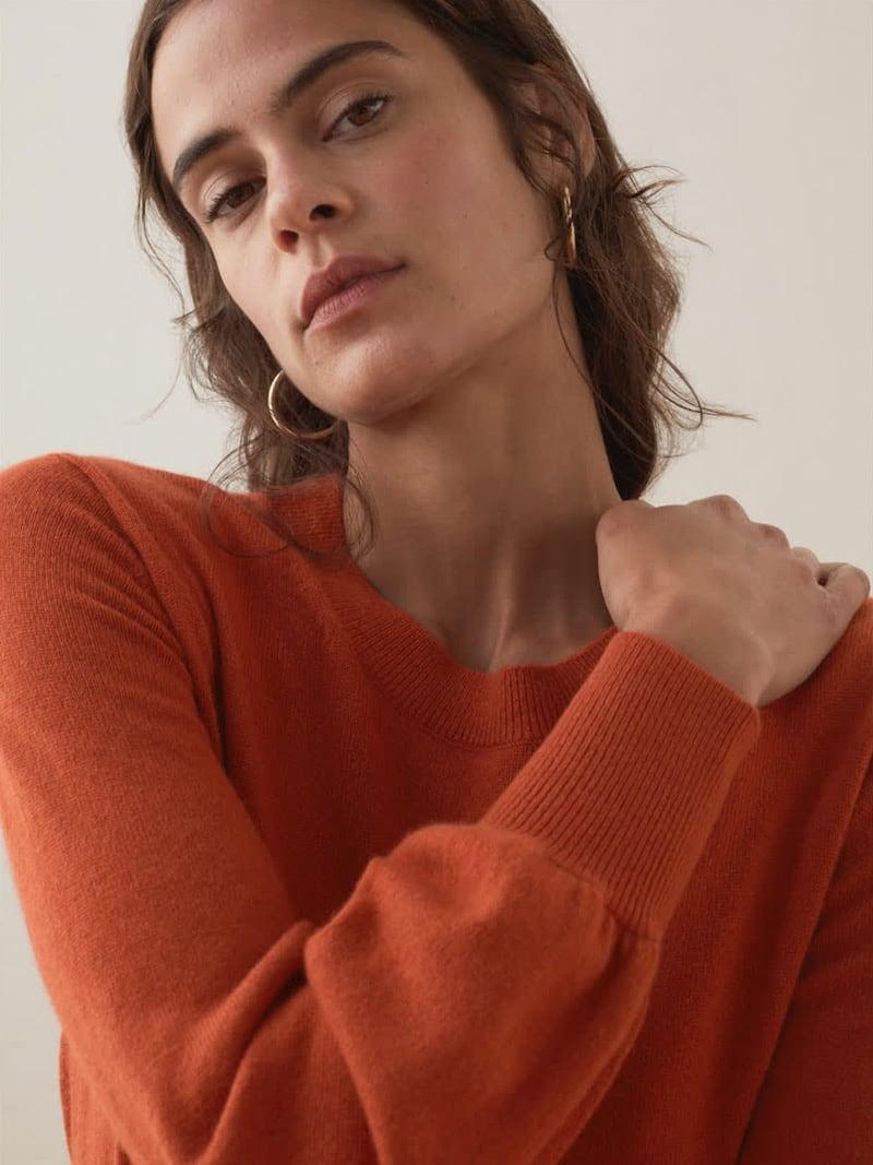 Everlane Cashmere Lantern Sweater 2