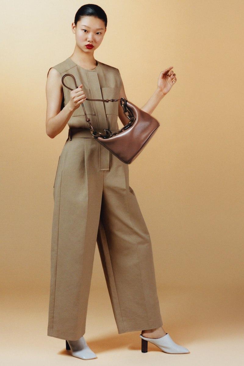 Gu de Leather Shoulder Bag