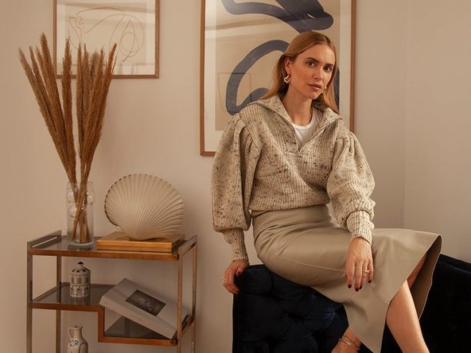 Isabel Marant Kuma Puff-Sleeve Wool Jumper