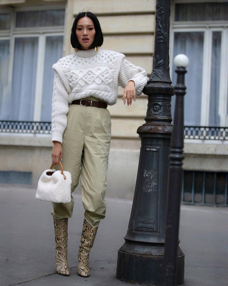 Isabel Marant Milane Merino Wool Sweater