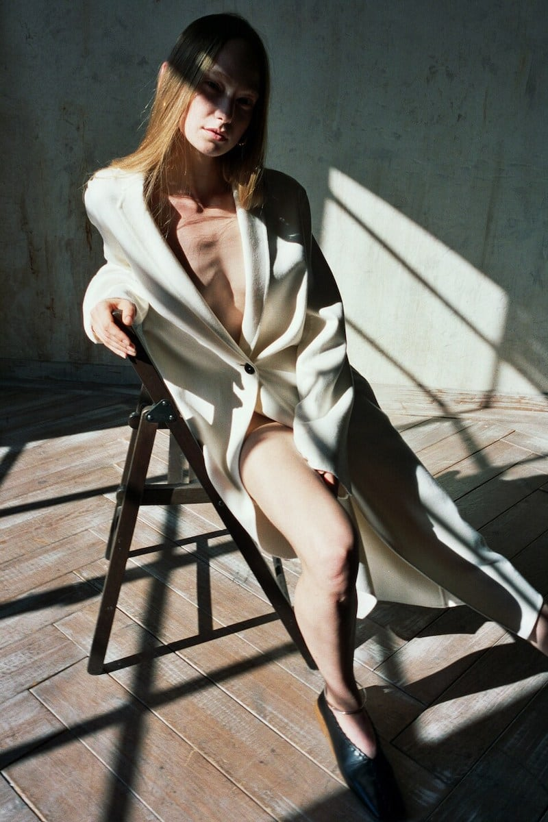 Jil Sander Single-Breasted Long Coat