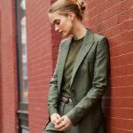 Lafayette 148 New York Atticus Gateway Cloth One-Button Blazer