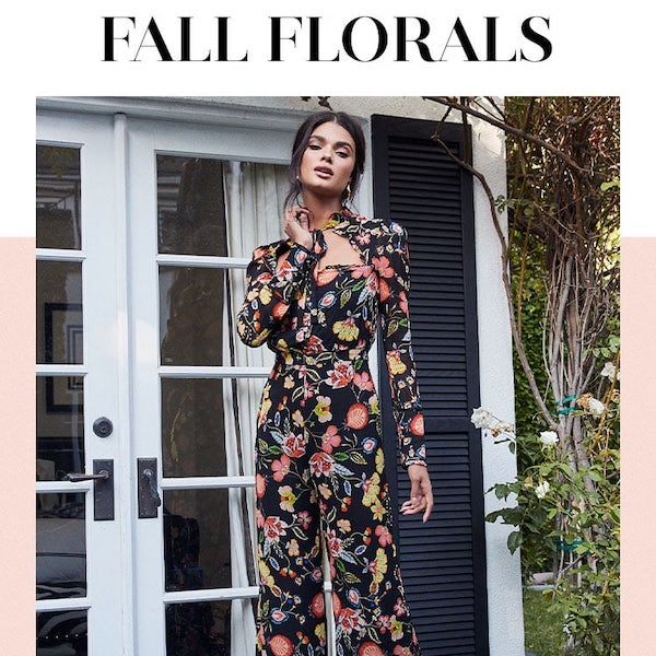 Looks We Love // Fall Florals 2019