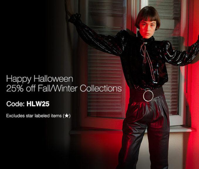 LuisaViaRoma Happy Halloween Sale 2019