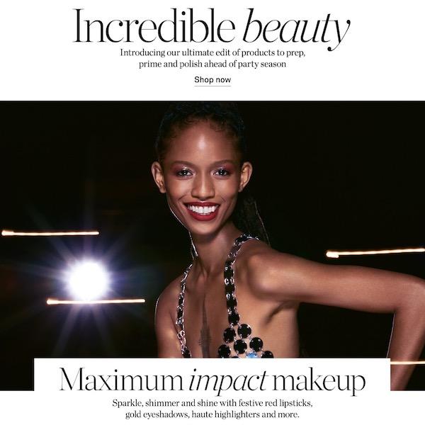 Maximum Impact Makeup: Incredible Beauty for Holiday 2019