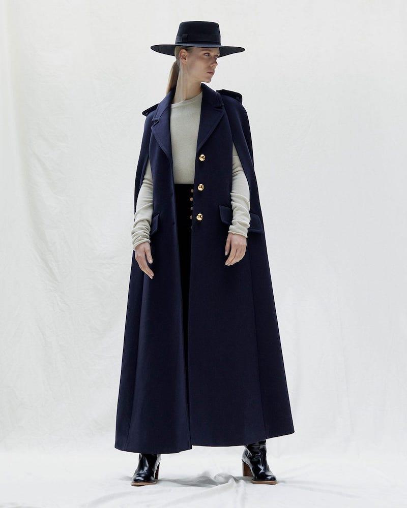 Miu Miu A-Line Wool Cape
