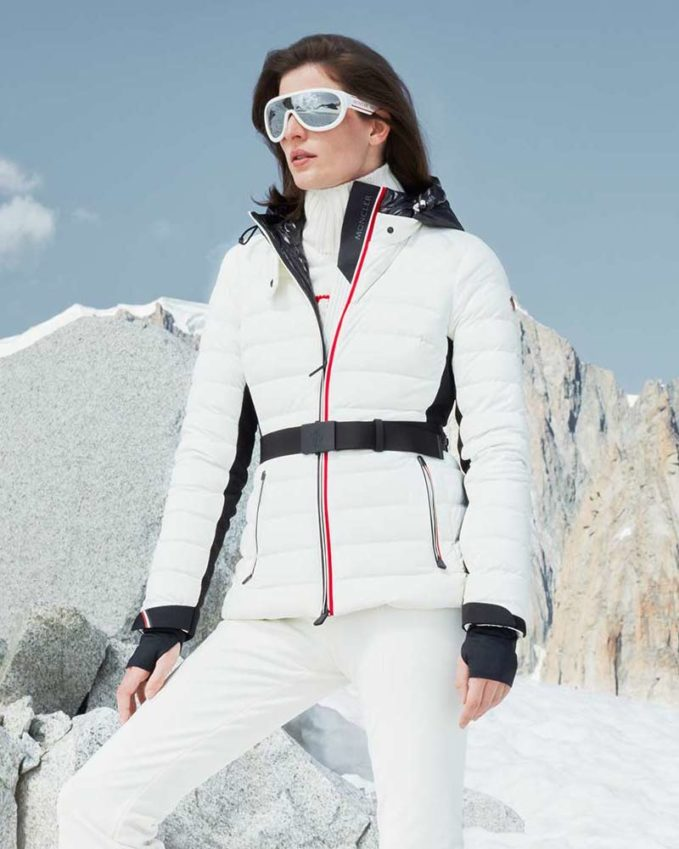 Moncler Grenoble Down-Filled Panelled Ski Jacket