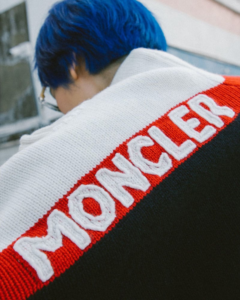 Moncler Intarsia Knitted Sweater