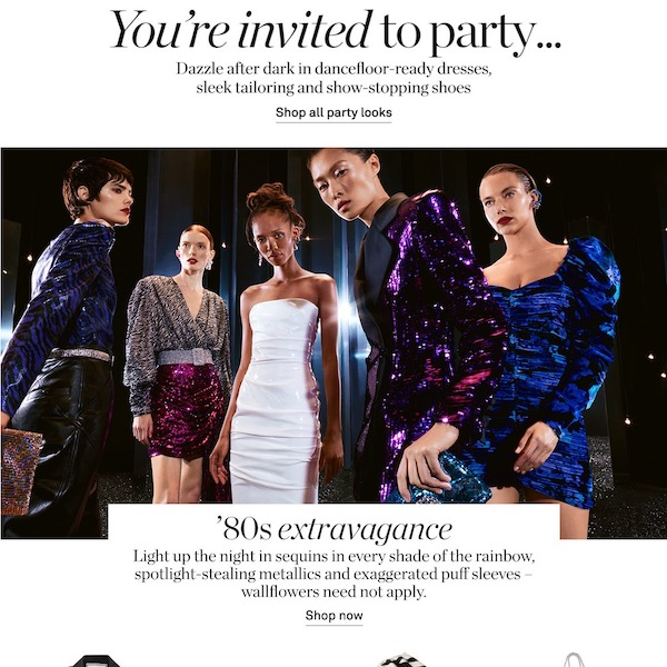 NET-A-PORTER Holiday 2019 Party Edit