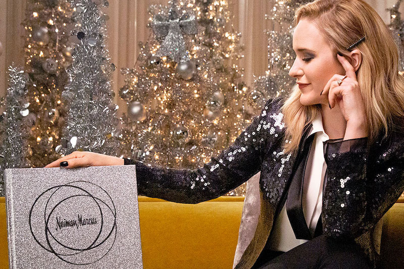 Neiman Marcus Holiday 2019 Fantasy Gifts with Rachel Brosnahan