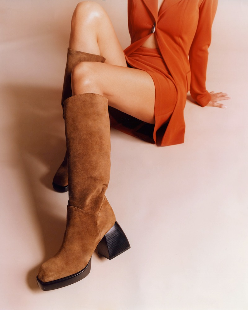 Nodaleto 85mm Bulla Solal Suede Boots