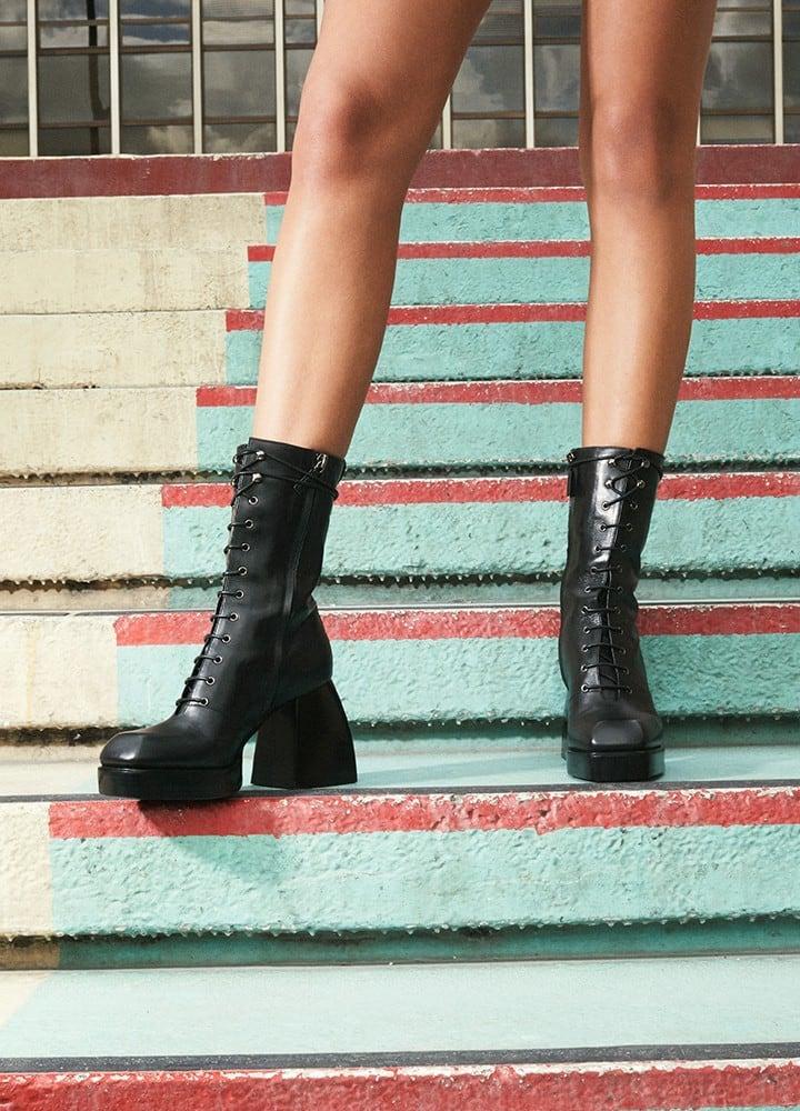 Nodaleto Bulla Laced Boots