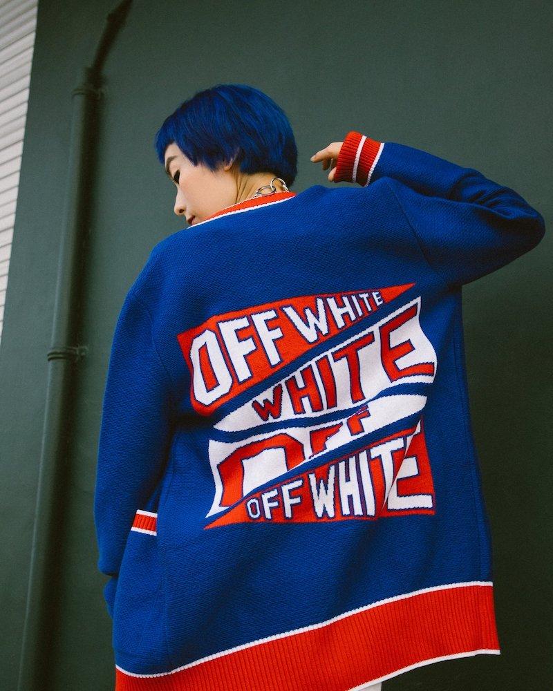 Off-White Flag Cardigan