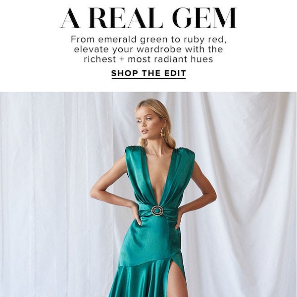 REVOLVE Fashion Edit // A Real Gem Fall 2019