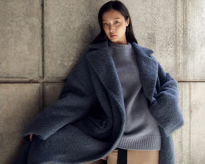 Raey Crew-Neck Basketweave Wool Sweater