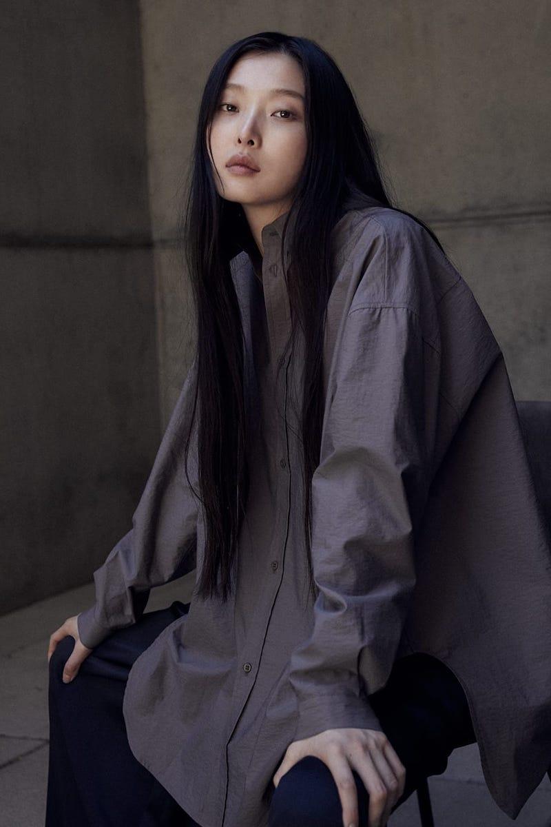 Raey Oversized Crinkled Cotton-Blend Shirt