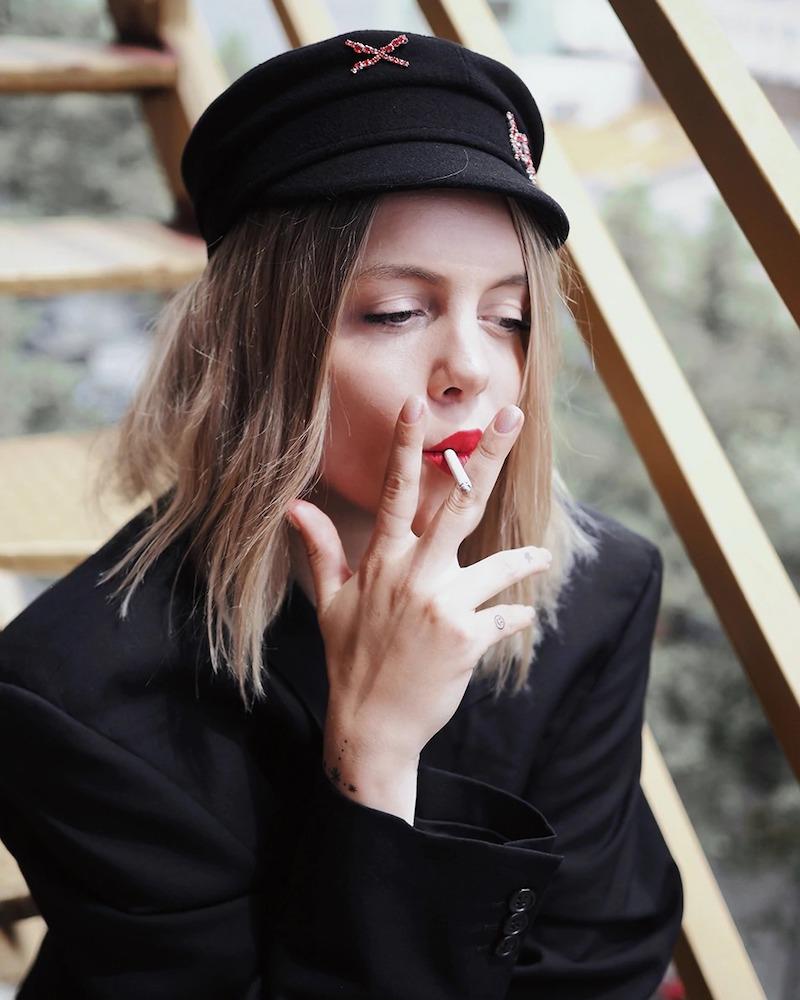 Ruslan Baginskiy LVR Exclusive Wool Baker Boy Hat
