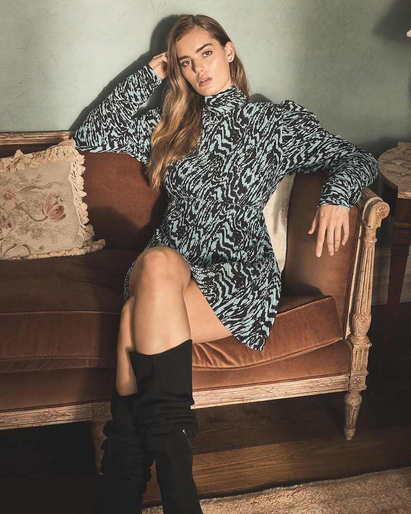 Solace London Marne Mini Dress