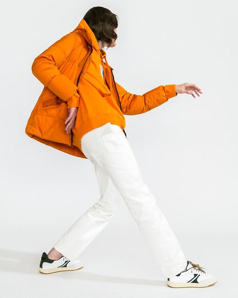 Stone Island Hooded Nylon Puffer Jacket