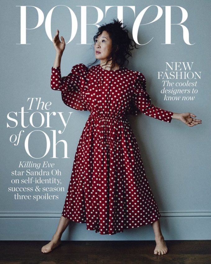 The Story of Oh: Sandra Oh for The EDIT
