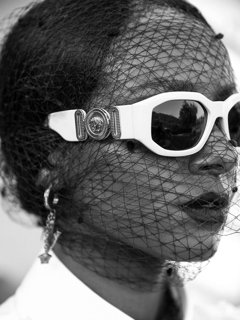 Versace Versace Biggie Squared Sunglasses