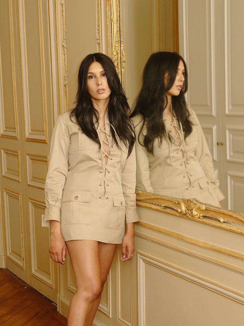 William Vintage Yves Saint Laurent 1968 Safari Gabardine Suit