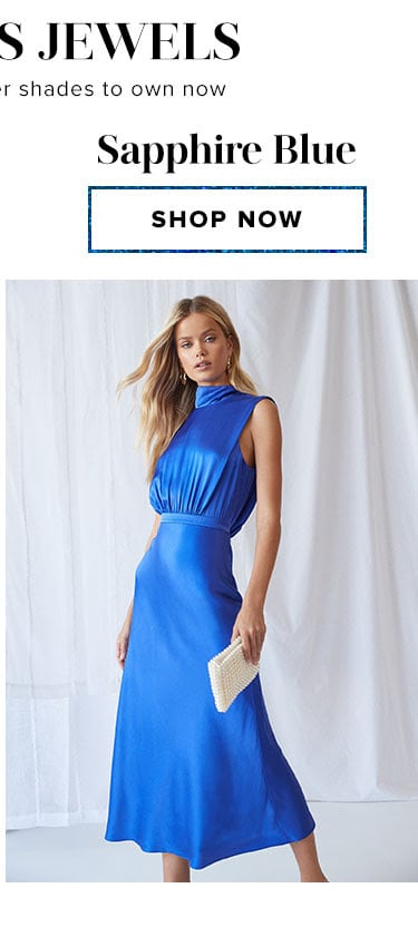 Sapphire Blue. Shop now.