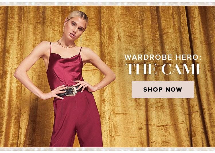 Wardrobe Hero: The Cami. Shop now