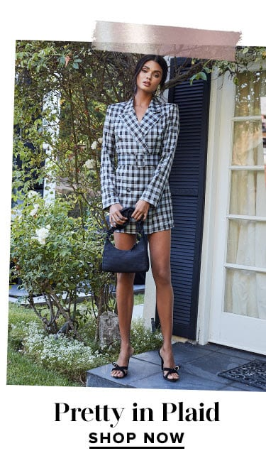 The Inside Scoop. Every style, trend & look you need to know about. Pretty In Plaid. Shop now.