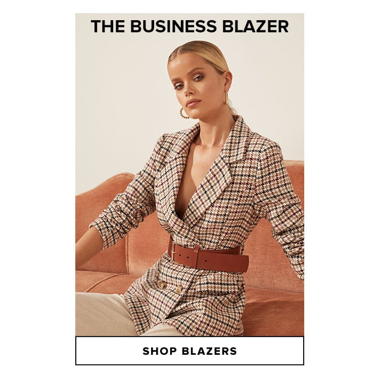 The Business Blazer. Shop Blazers.
