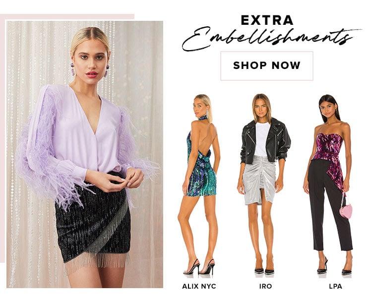 Extra Embellishments. Shop now.