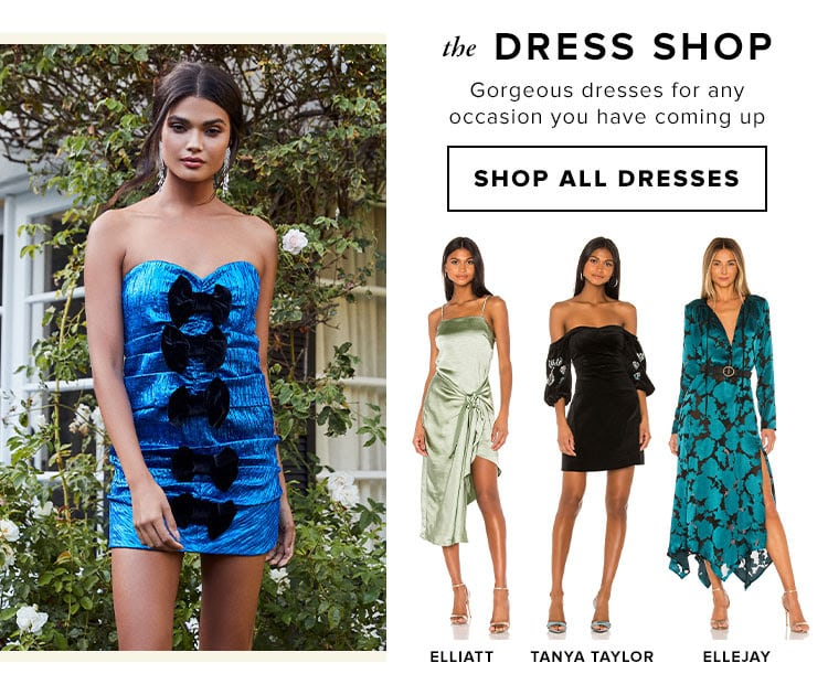 The Dress Shop. Gorgeous dresses for any occasion you have coming up. SHOP ALL DRESSES
