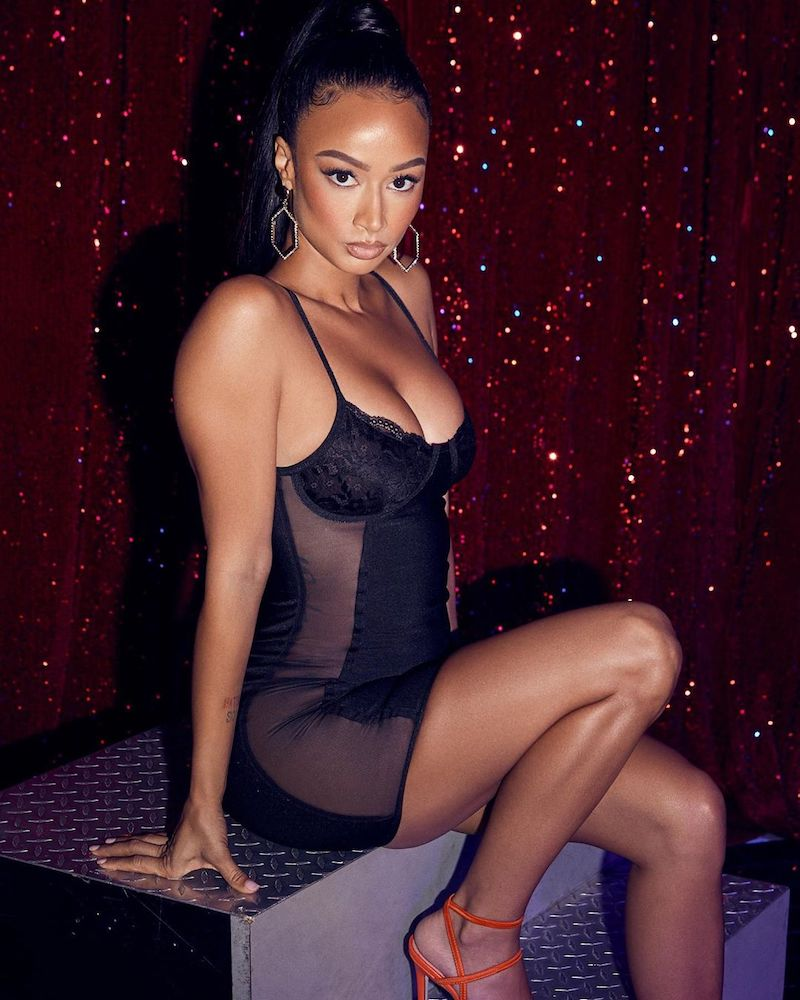 superdown x Draya Michele Use Your Imagination Dress
