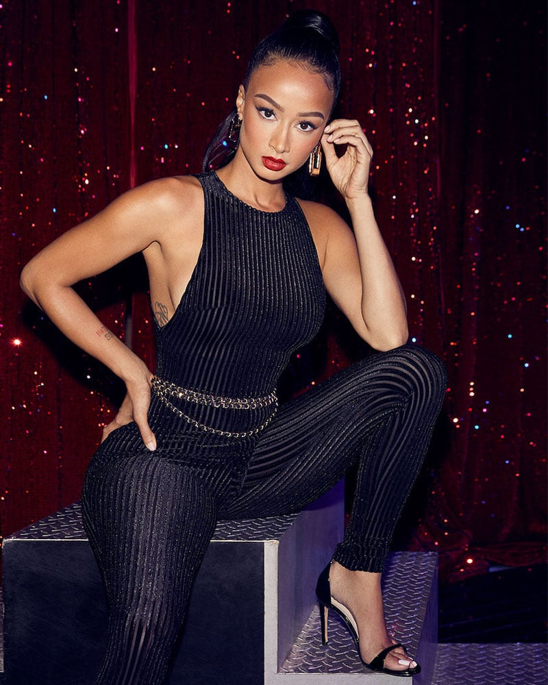 superdown x Draya Michele Welcome to the Party Catsuit