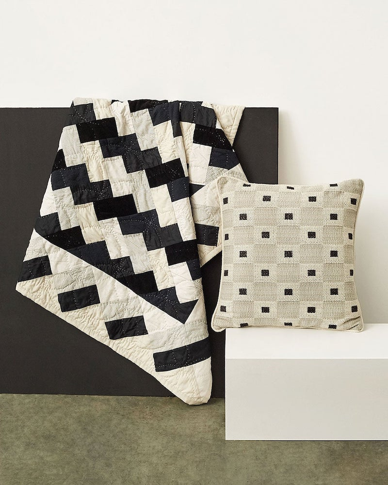 A.P.C. Sonate Quilted Cotton Throw