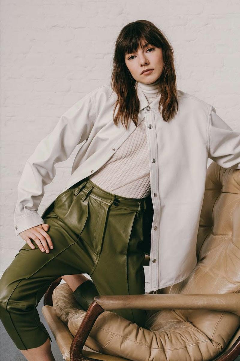 Acne Studios Leather Overshirt