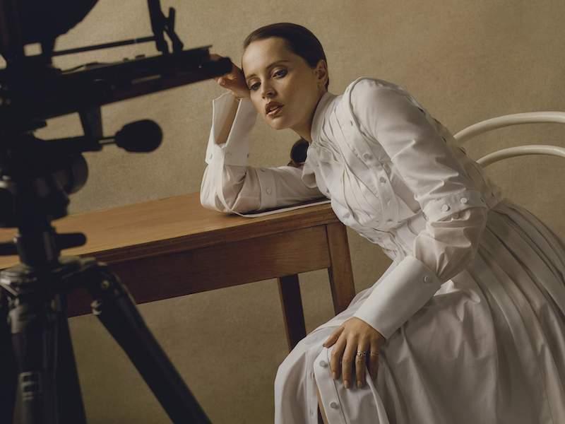 Alexander McQueen Cutout Pleated Cotton-Poplin Dress