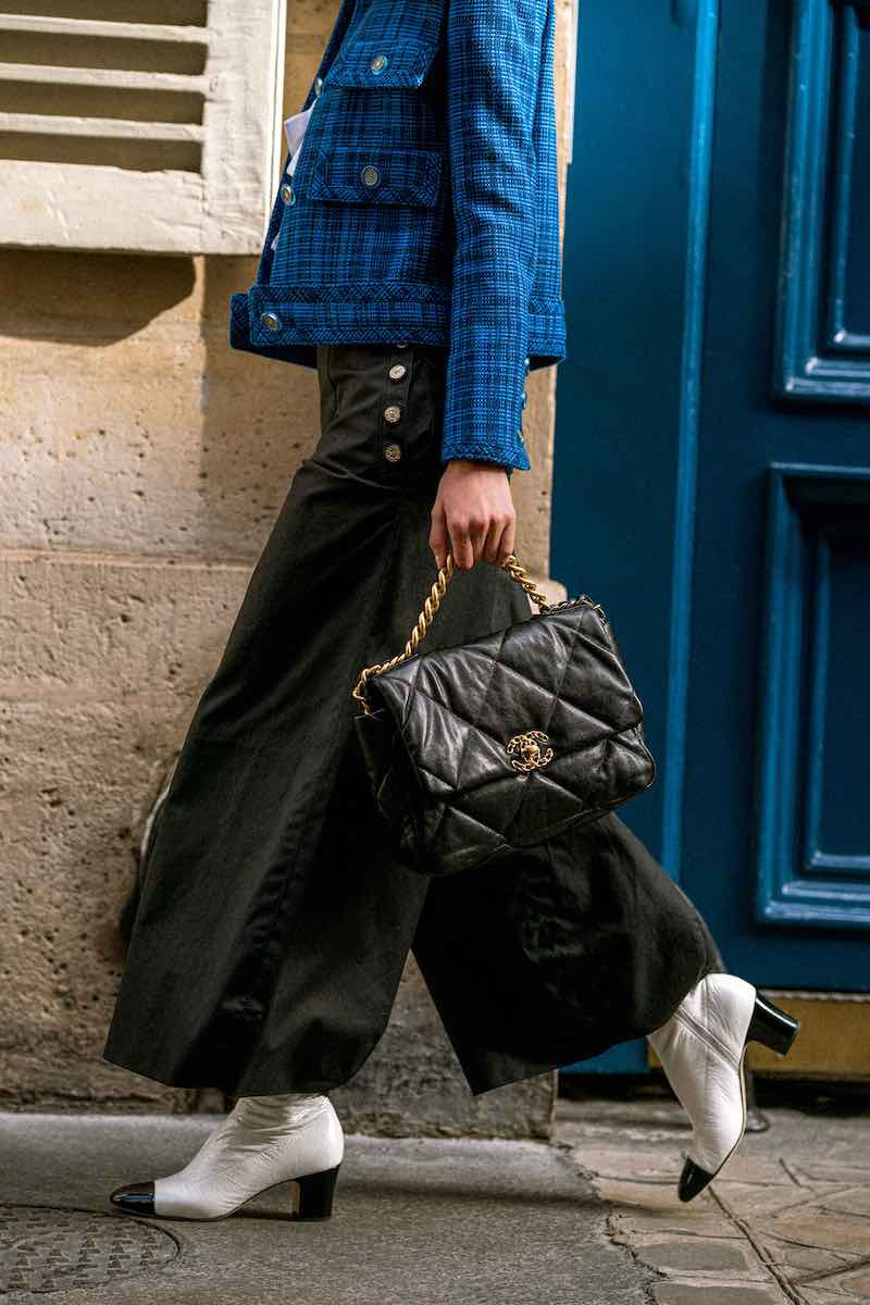 CHANEL Coated Cotton Canvas Pants 1
