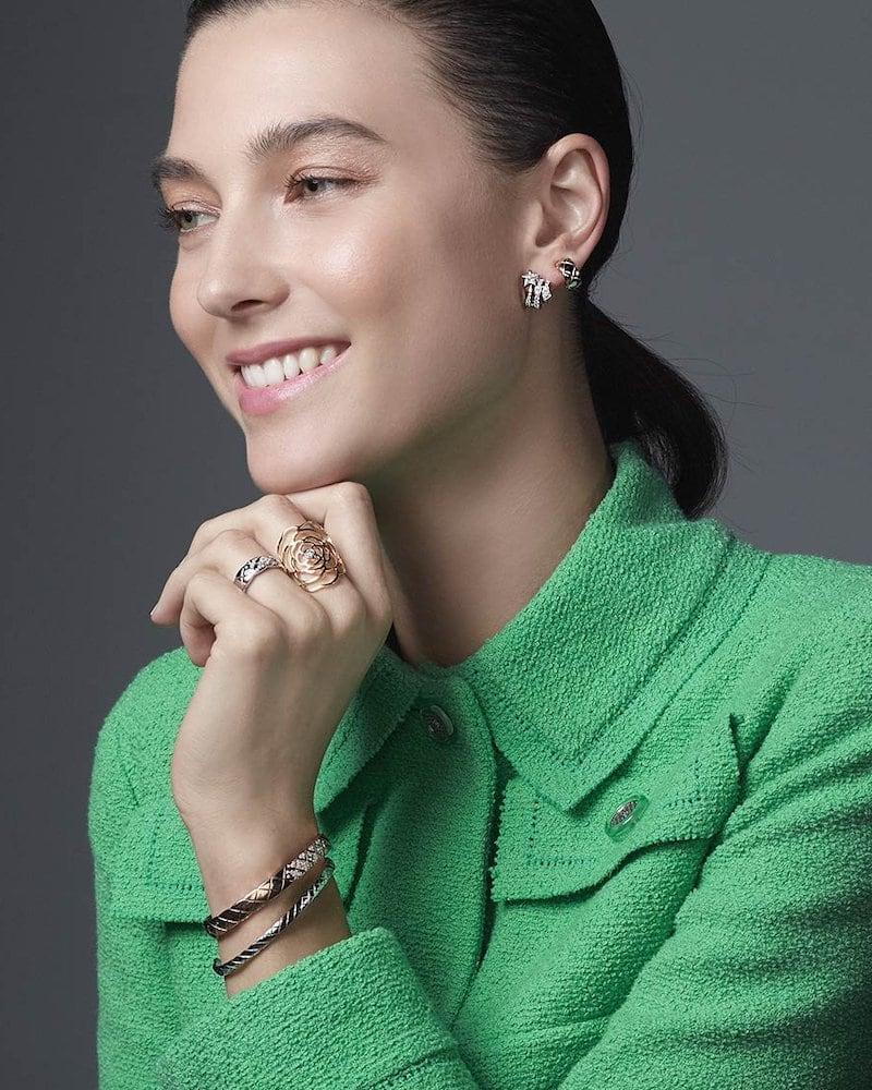 Chanel pétales De camélia Ring