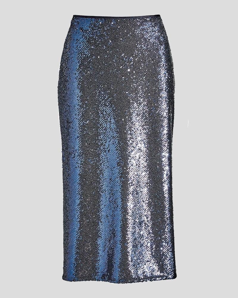 Cinq a Sept Sequin Marta Skirt