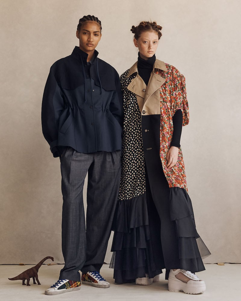 Colovos x Woolmark Prize Water-Resistant Colorblocked Merino Wool Jacket