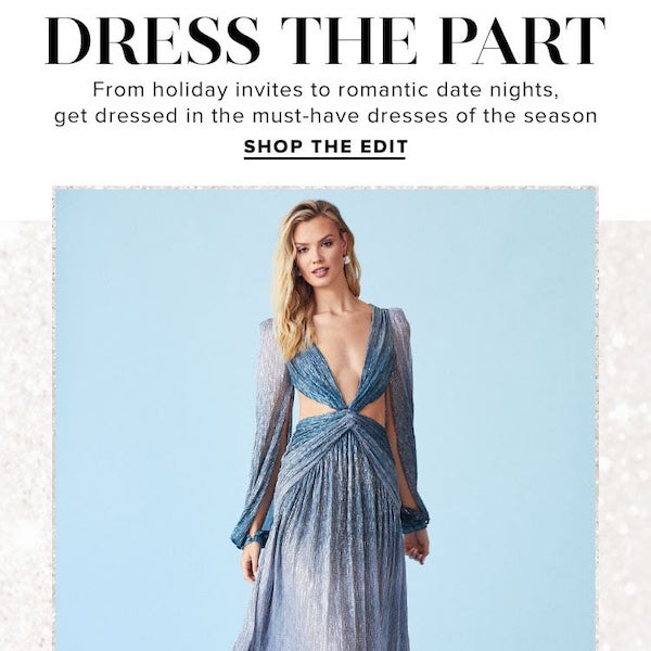 Dress The Part: Holiday 2019 Must-Have Dresses
