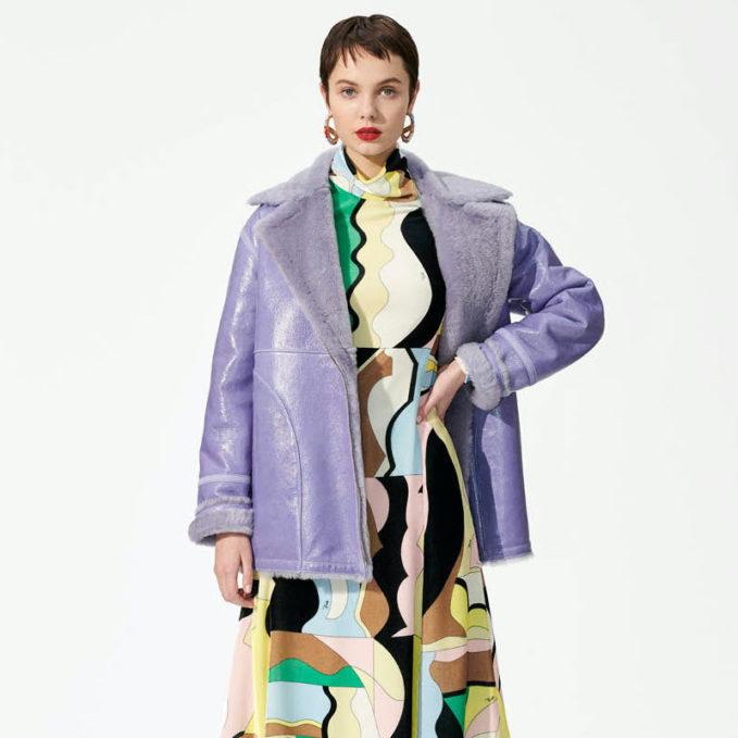 Emilio Pucci Off-Centre Zipped Jacket