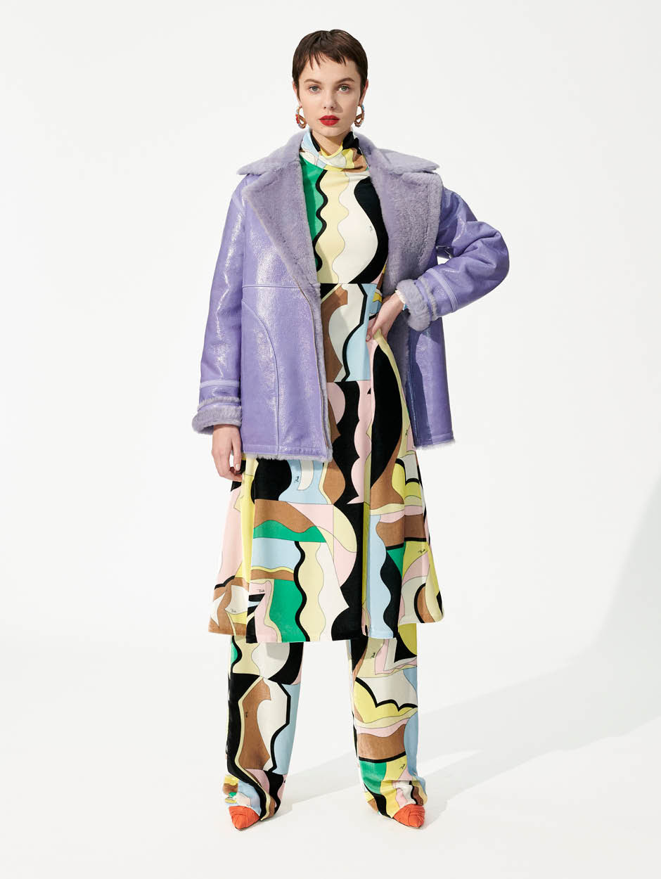 Emilio Pucci Printed Silk-Blend Jersey Pants