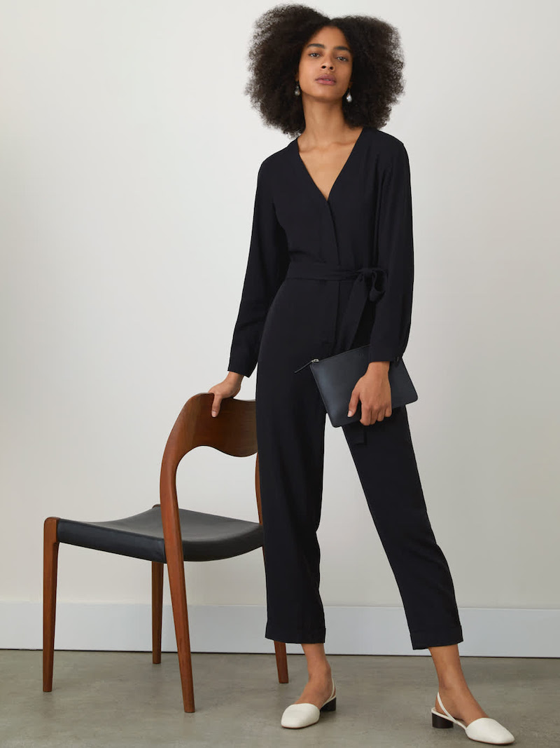 Everlane Drape Jumpsuit